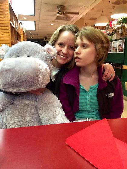 Member of Leukodystrophy Forum with daughter