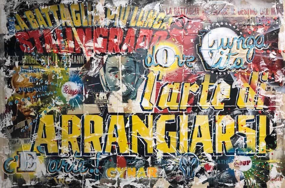 L'ARTE DI ARRANGIARSI 100X150