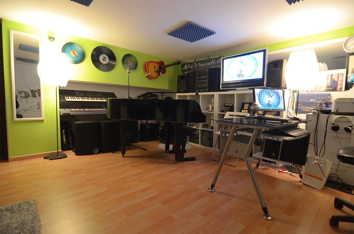 Sala Canto e registrazione