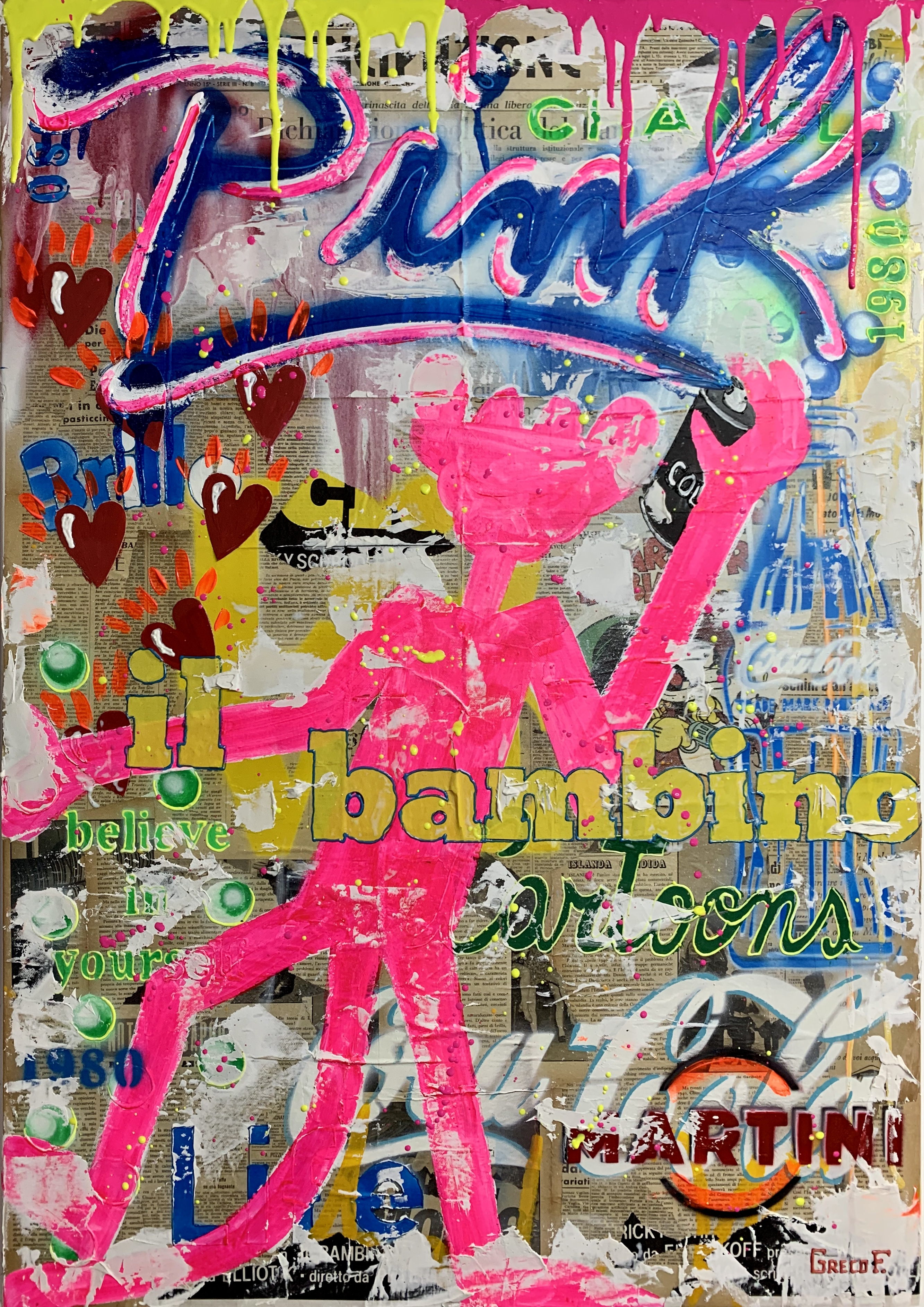 IL BAMBINO CARTOONS 70x100