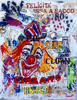 The Clown  40X50