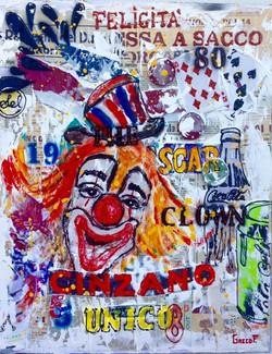 The Clown  40X50