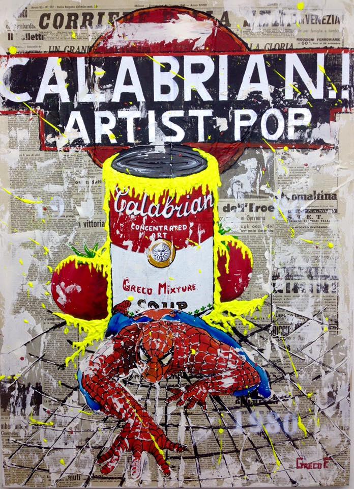 Calabrian Artist Pop 50X70