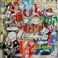 UN ARTista MATTO 100x100