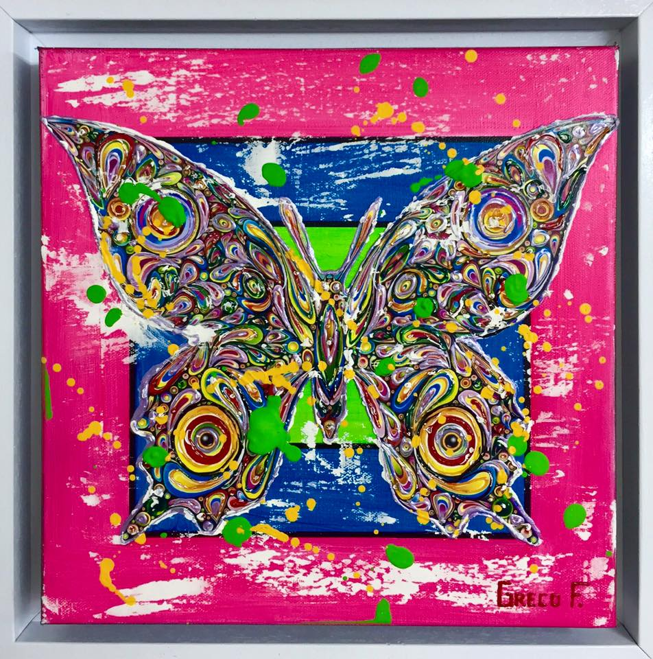 Colorful Butterfly 30x30