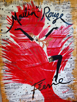 Moulin rouge 50x70