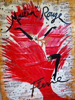 Moulin rouge 50x70