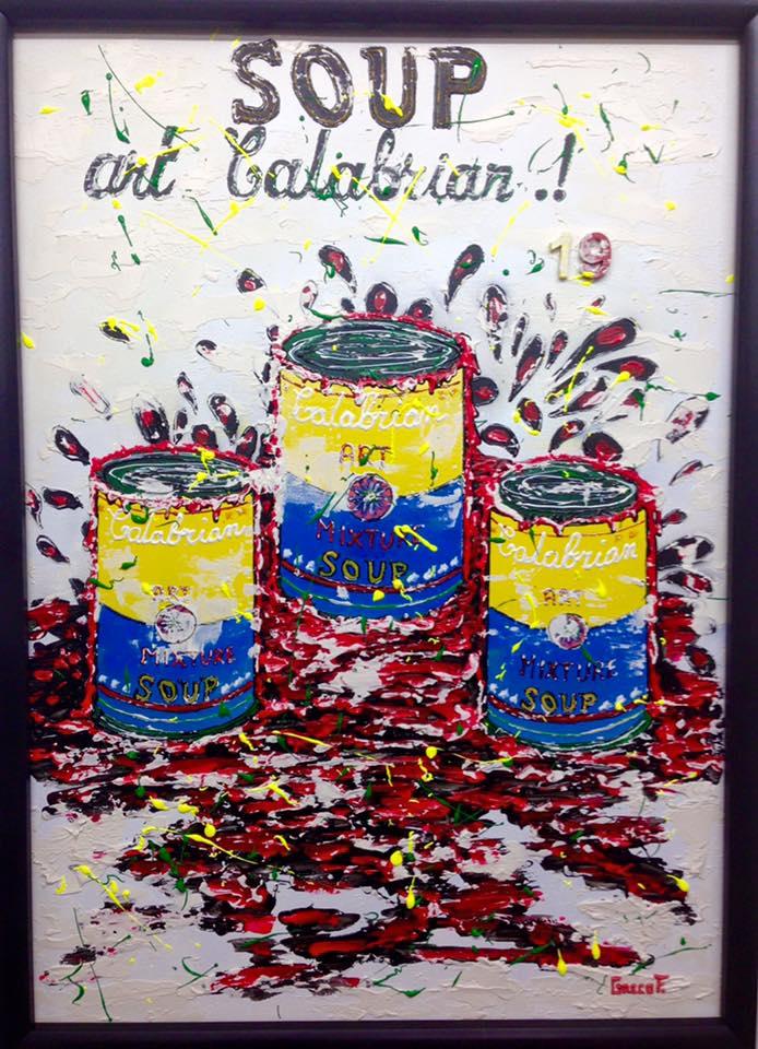 SOUP art Calabrian 50X70