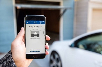 Smart Home Garage Door
