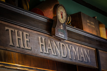 The Handyman. Back Bar