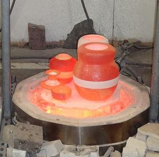 Jake Corboy Raku Ceramics Pottery