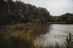 Wedding lakeside venue