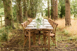 Simple but beautiful wedding table