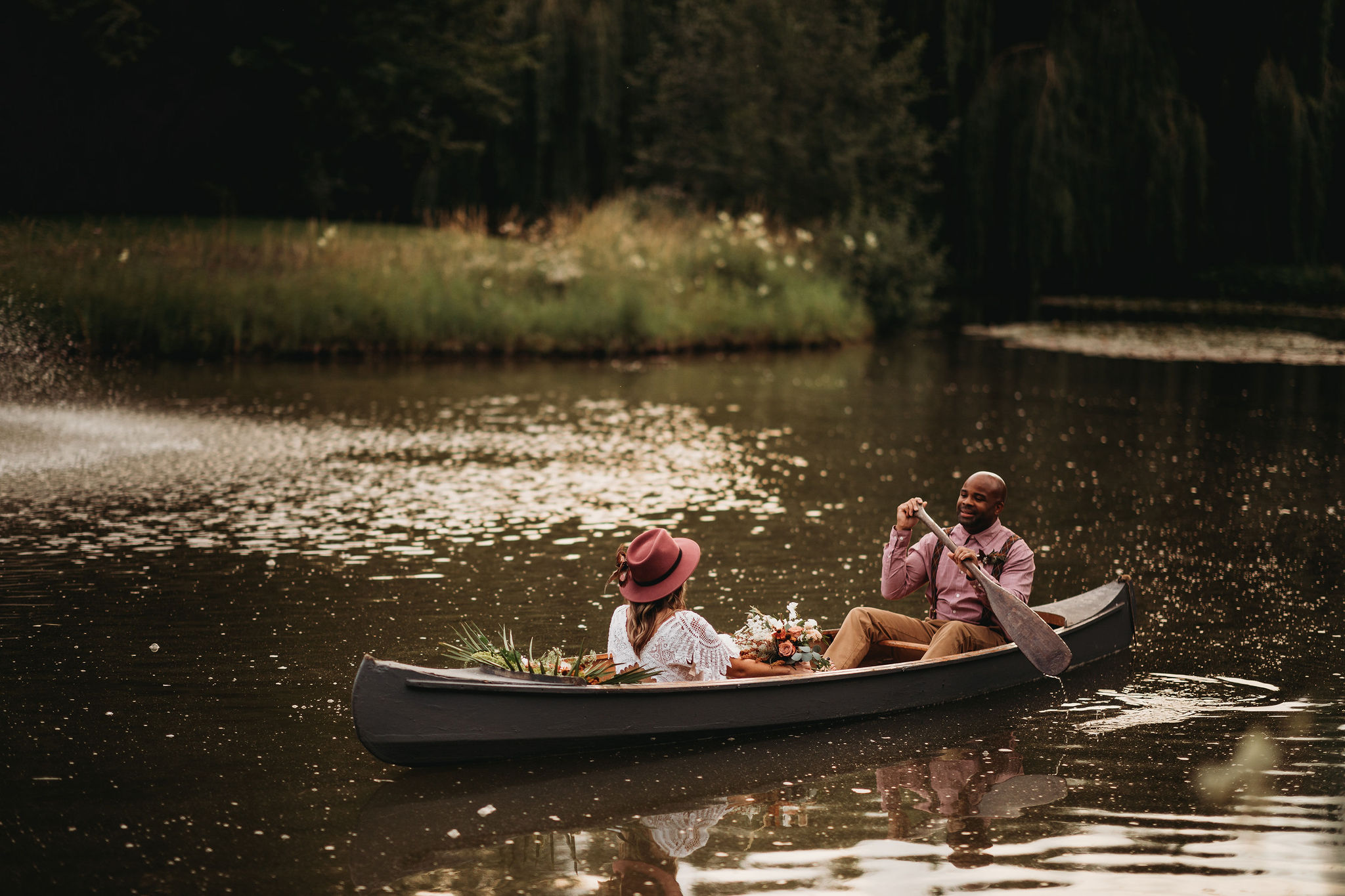 Wedding Canoe