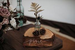 Autumn table place