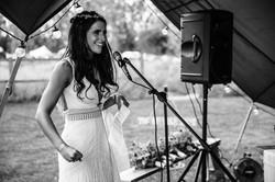 Brides wedding speech