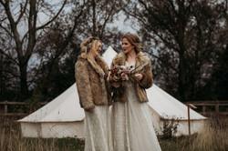 Autumn Brides in Glampsite