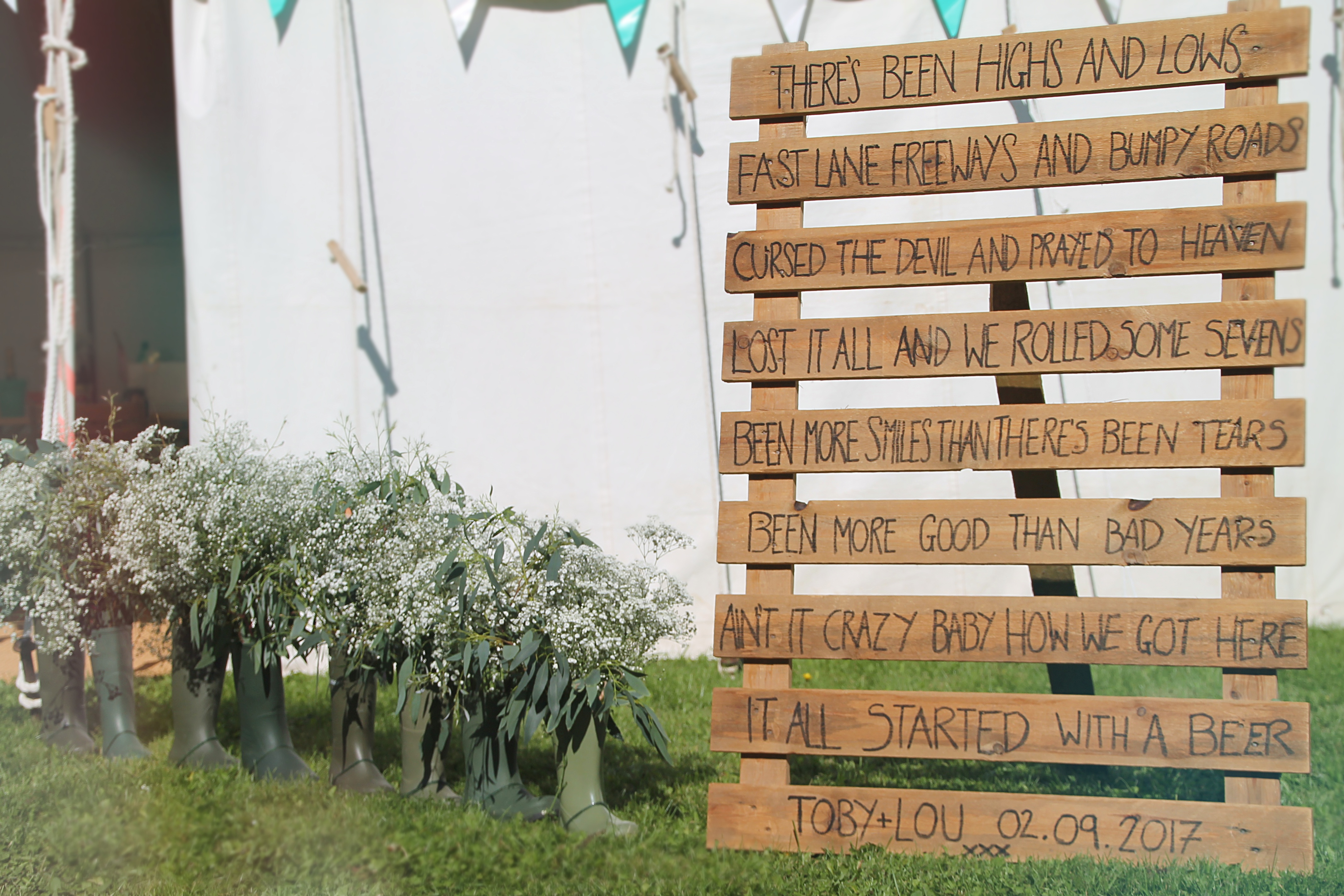 Pallet Signs