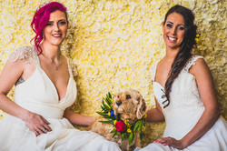 Doggy Bridesmaid