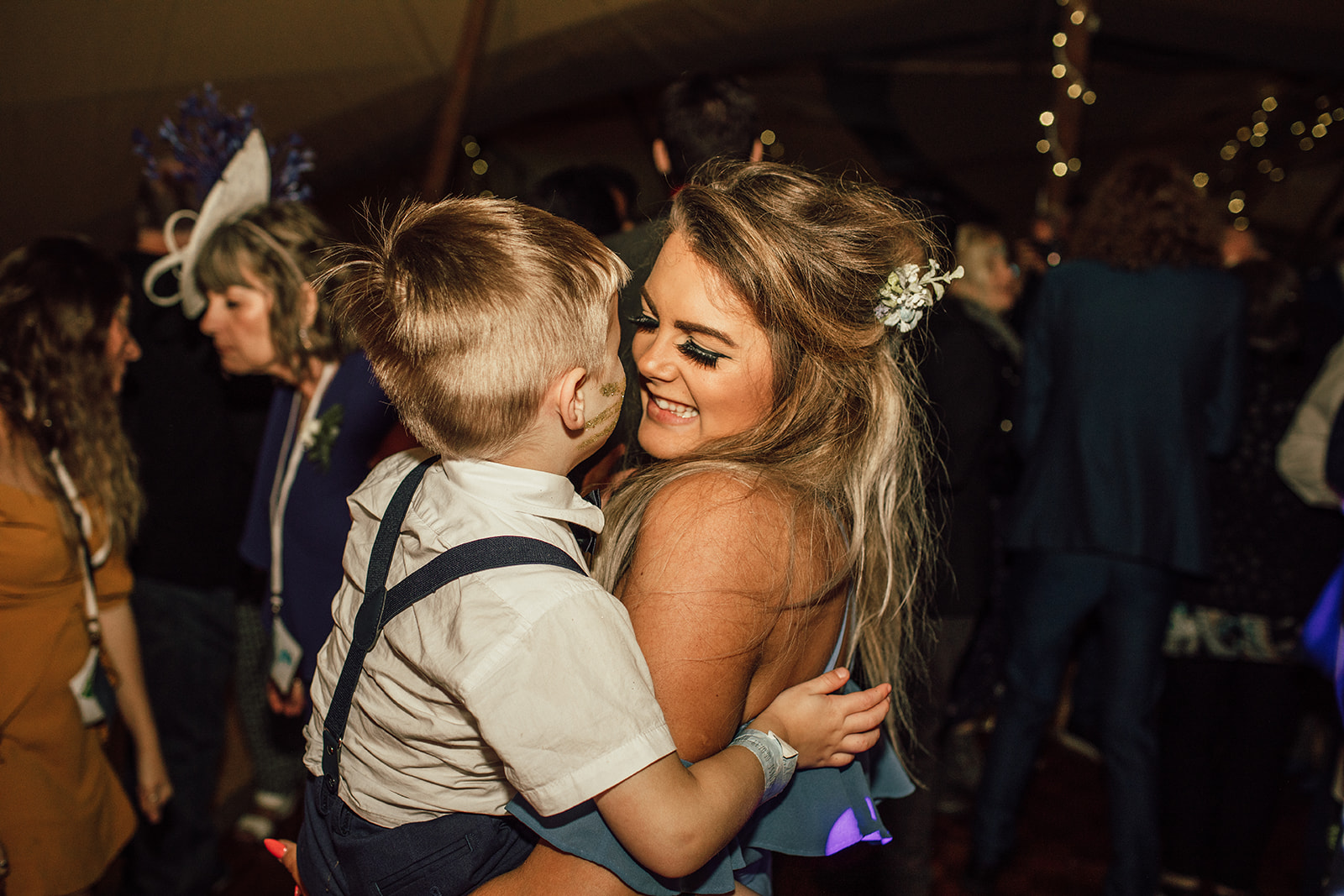 Bridesmaid with pageboy