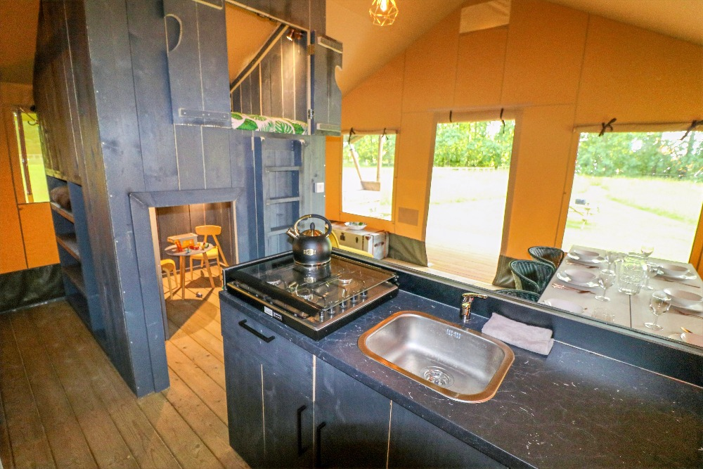 Safari Tent Kitchen