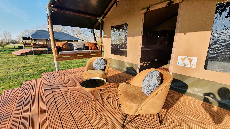 Safari Tent Veranda