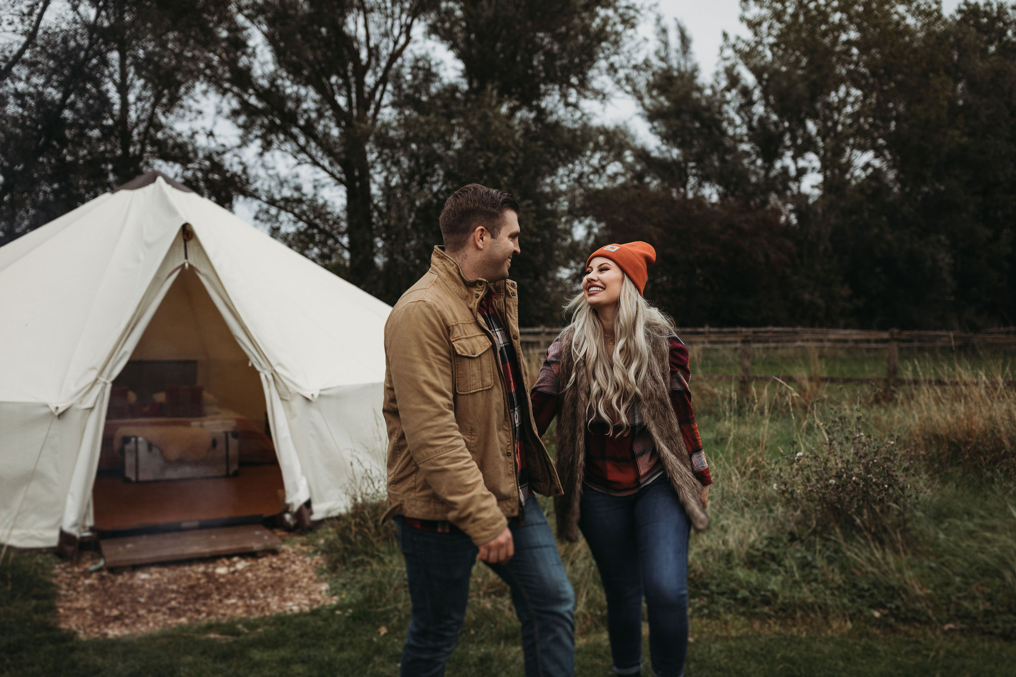 Romantic Glamping