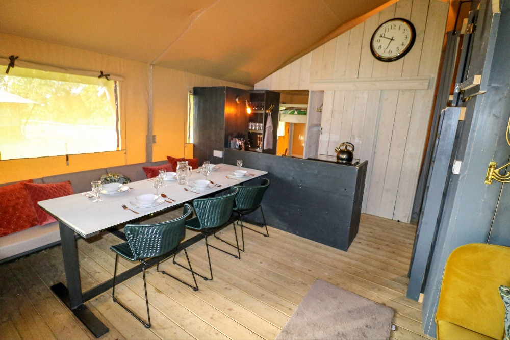 Safari Tent Dining Table