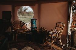 Glampsite yurt