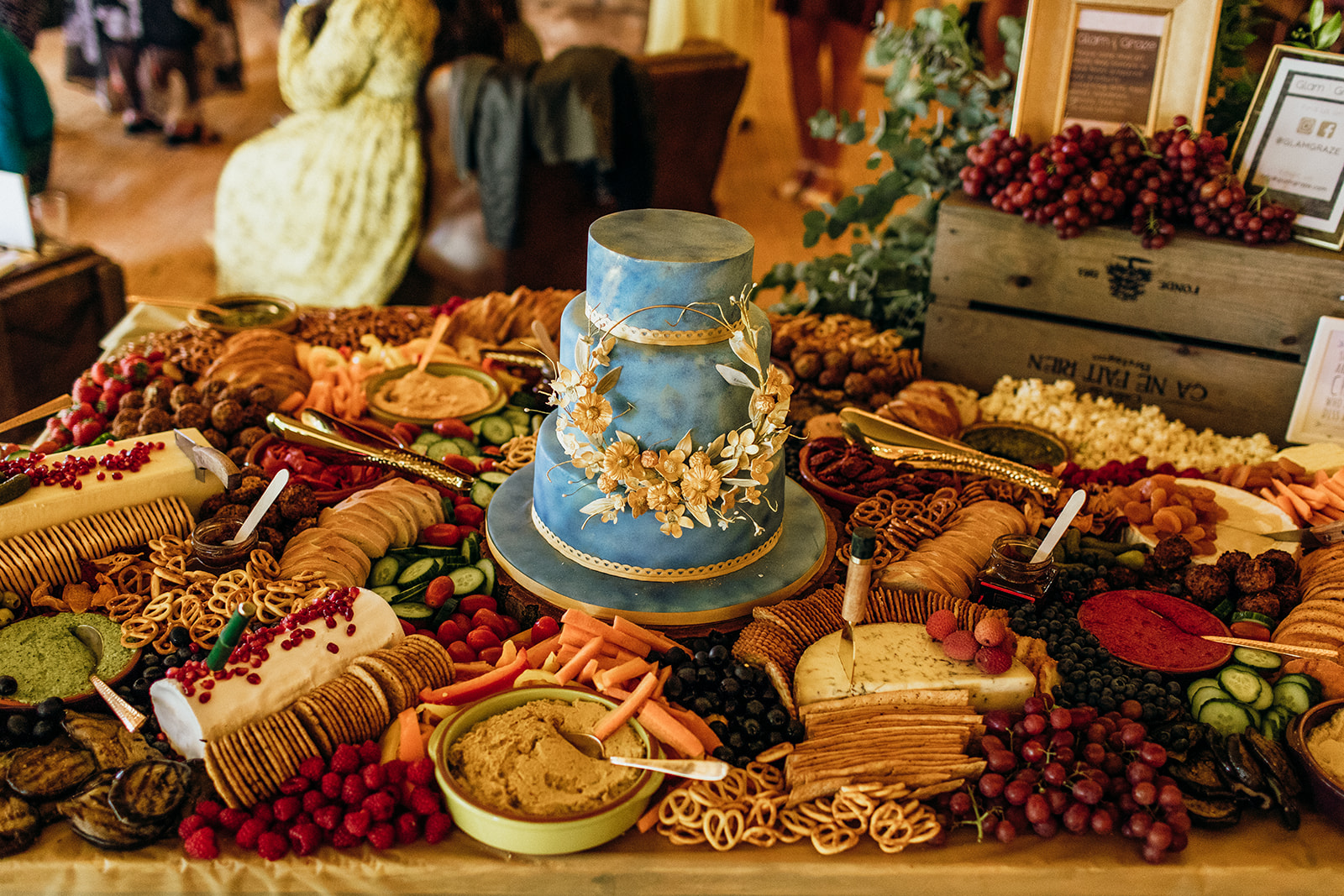 Wedding cheeseboard