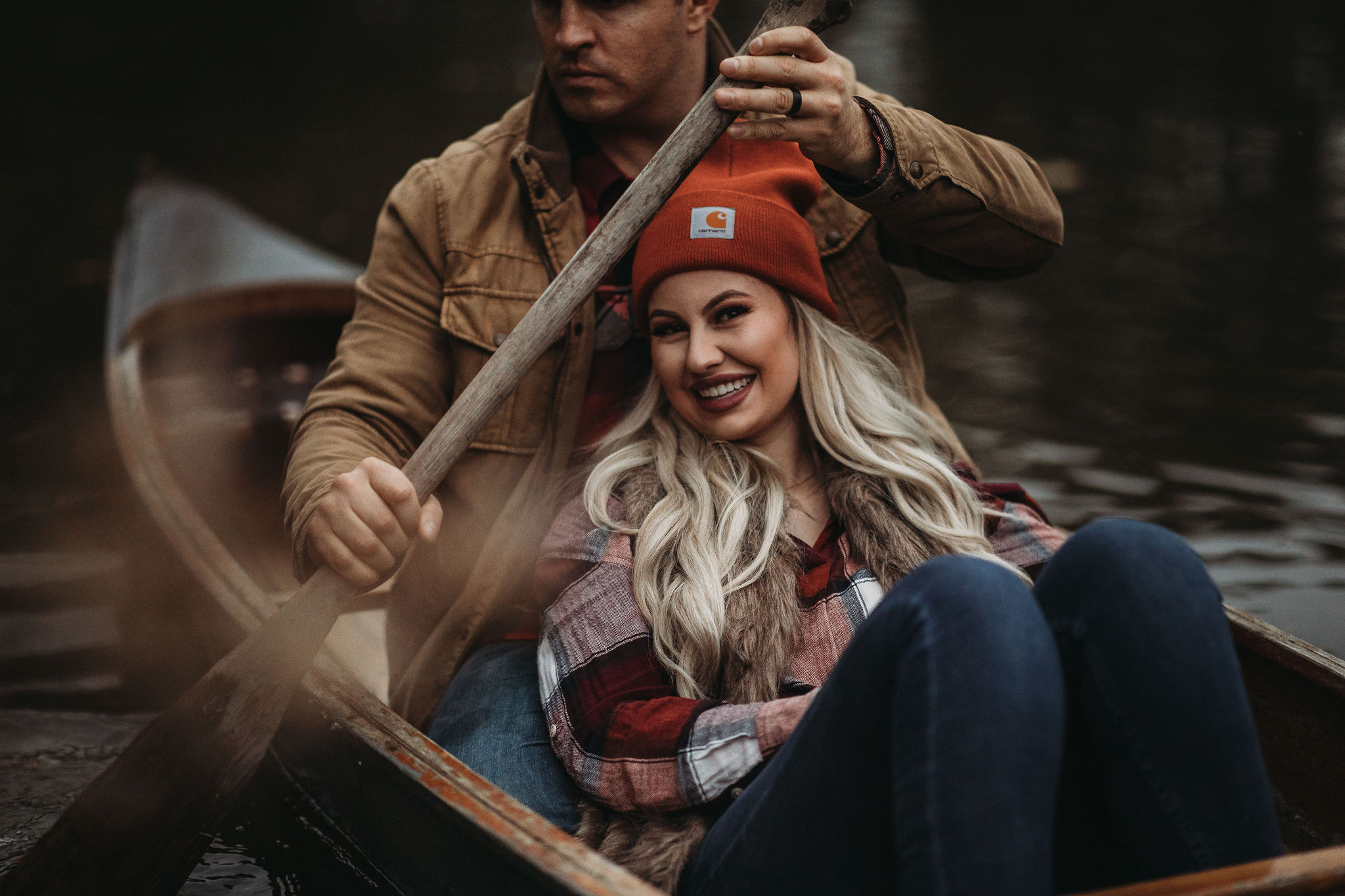 Romantic Canoe