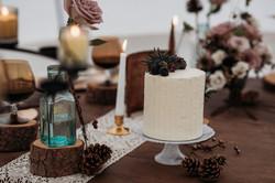 Wedding table arrangement