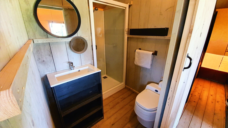 Glamping Bathroom