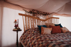 Glampsite wedding yurt