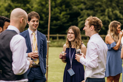 Groom with guests