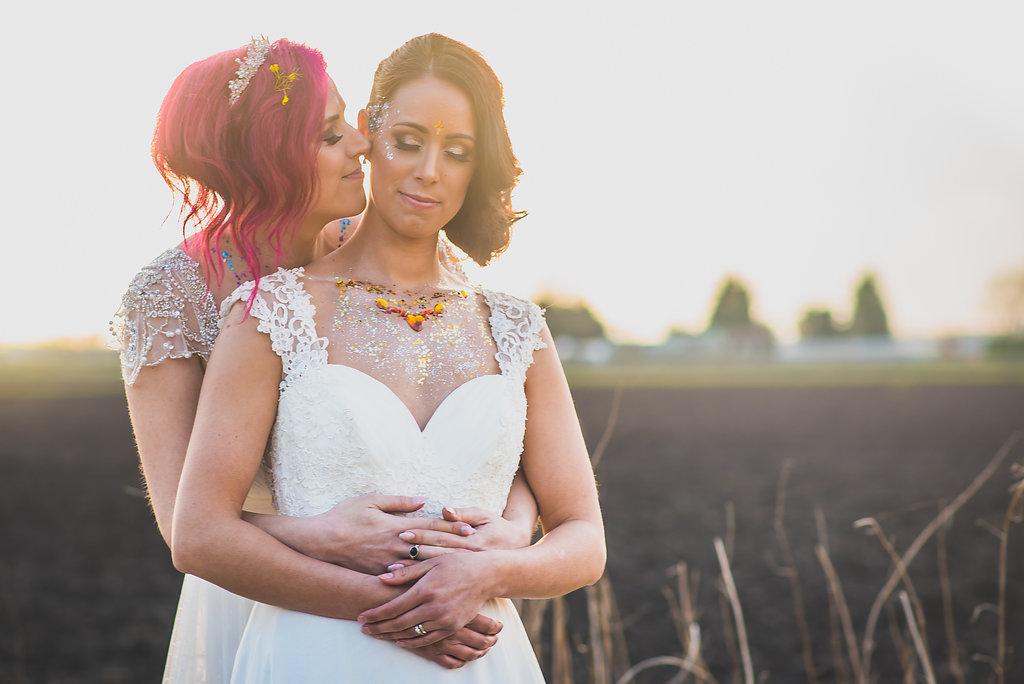 Glittery Brides