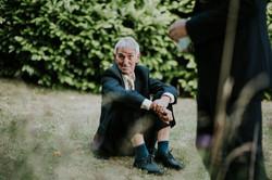 Guest enjoying wedding
