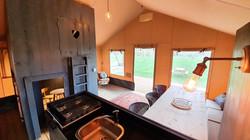 Safari Tent Living Space