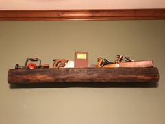 Raw Wood Shelf