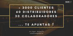 3000 clientes60 distribuidores30 colaboradores