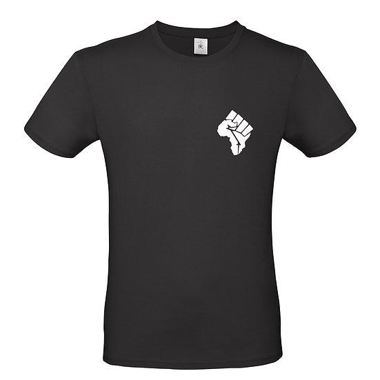 Adult Africa Fist T-Shirt (Black)