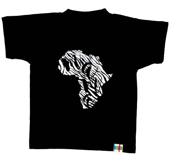 Children's Zebra Mama Africa T-Shirt