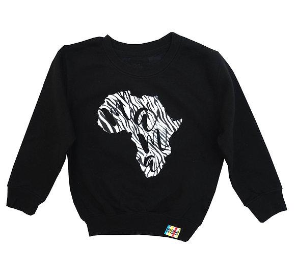 Adult Zebra Mama Africa Sweatshirt