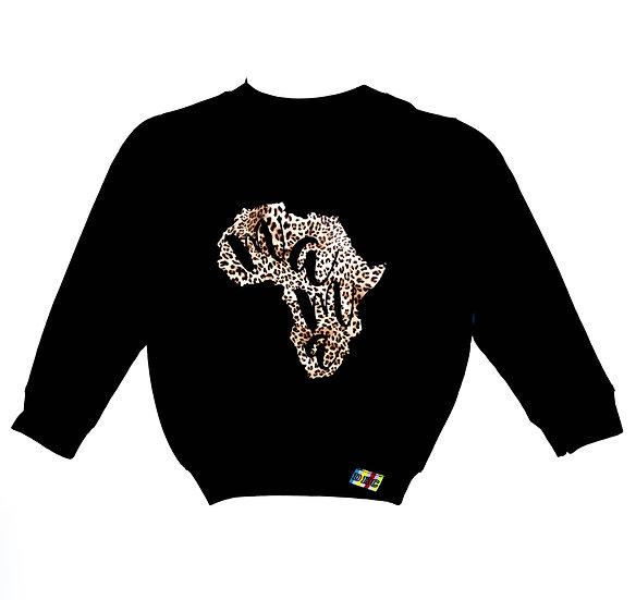 Children's Leopard Mama Africa Sweatshirt