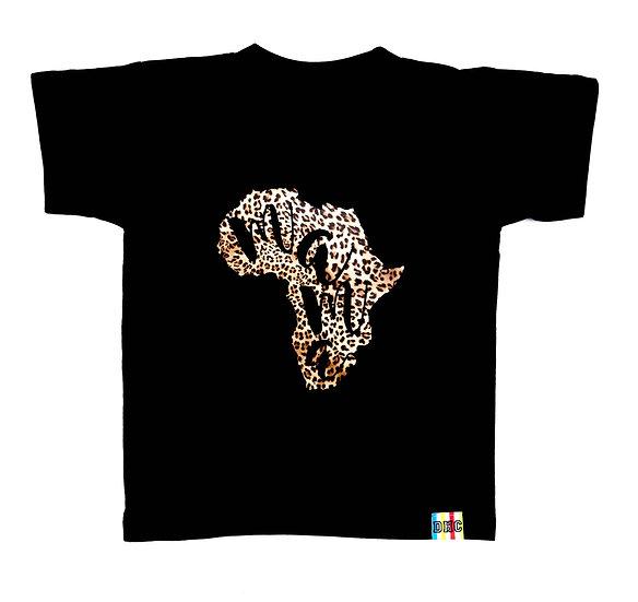 Children's Leopard Mama Africa T-Shirt