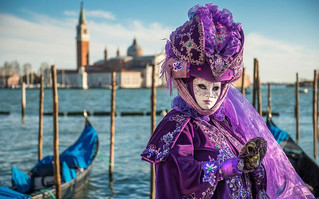 In February All Masks Meet In Venice