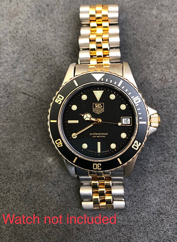 "Bezel insert for Tag Heuer 984.013 ""Wolf of Wall Street"", 980.020, 980.029"