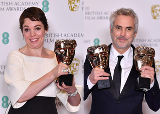 The Favourite And Roma Triumph At BAFTA Awards 2019