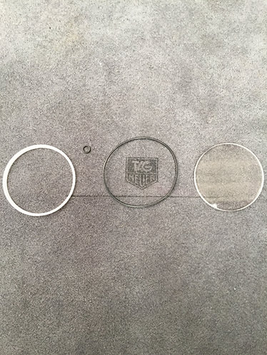 180.023 180.123 Tag Heuer Spirotechnique sapphire crystal and gasket package