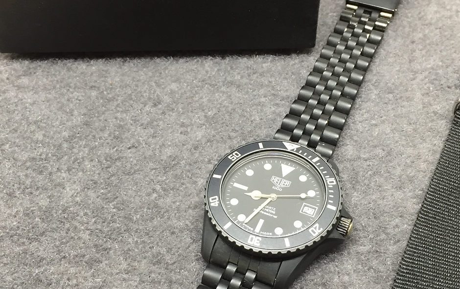 Serviced TAG HEUER Pro Black Coral 980.026L